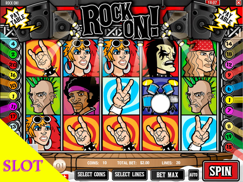 Rock-On!-Slot